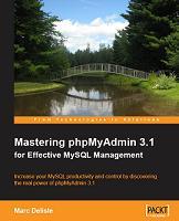 Mastering phpMyAdmin 3.1 Cover