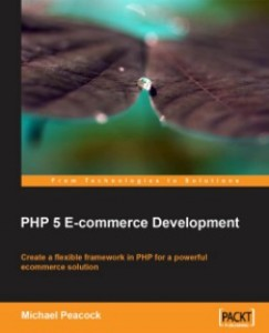 Php 5 eCommerce Development Book Cover