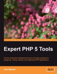 Book cover: Expert PHP 5 Tools