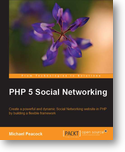 PHP 5 Social Networking cover